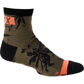 """Fox 4"""" Flexair Merino Socks Men, verde"""